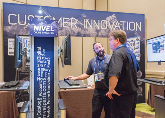 The dealer success area premiered the New Nivel 2017 Partner Program.
