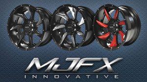 mjfx black hawk wheels & inserts